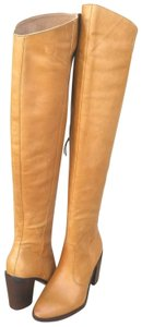 Anthropologie Natural Leather Boots - item med img
