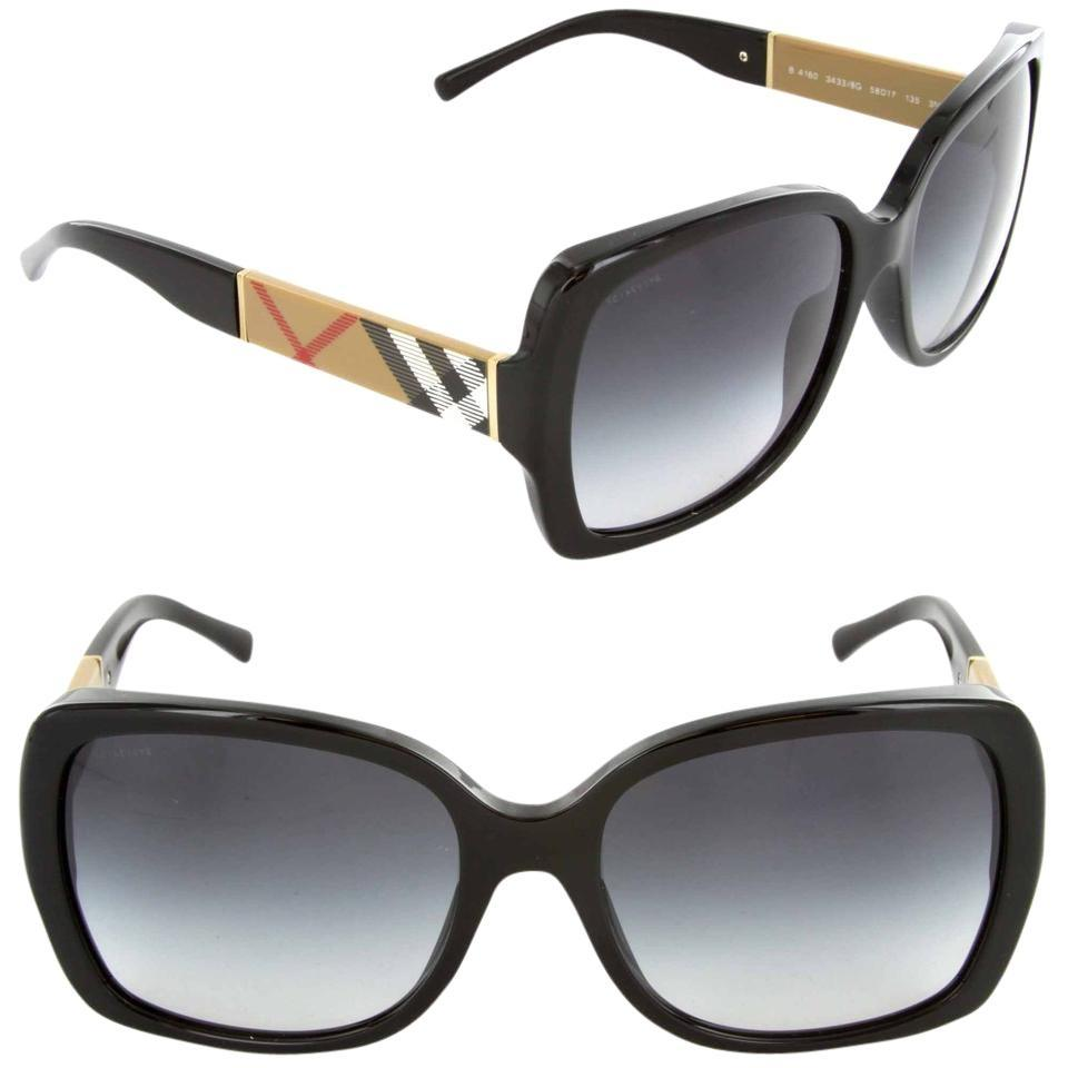 cd8c9c2407 Burberry Black 4160 3433 8g Sunglasses - Tradesy