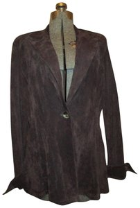 Finley Suede brown Leather Jacket