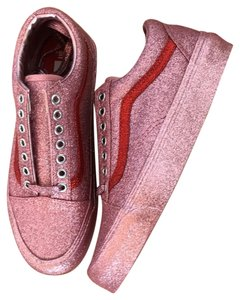 Vans pink / red accent Athletic
