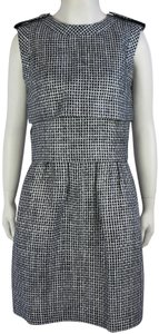 Chanel Basketweave Tweed White Dress