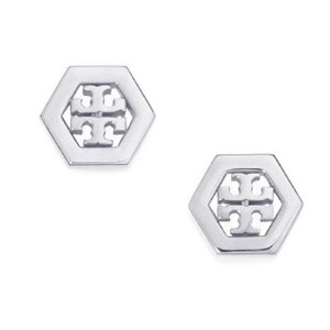 Tory Burch hex stud earrings