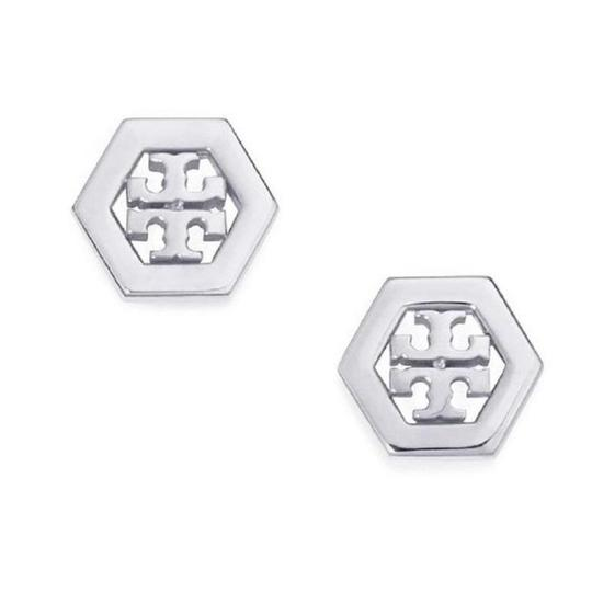 Preload https://img-static.tradesy.com/item/22857088/tory-burch-silver-stud-hex-earrings-0-0-540-540.jpg