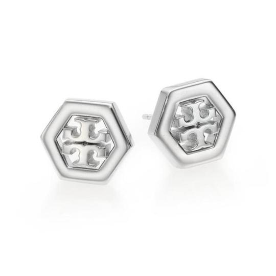 Tory Burch hex stud earrings Image 1