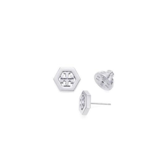 Tory Burch hex stud earrings Image 2