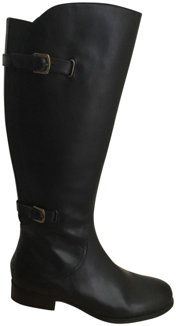 Item - Black Jennings Riding Boots/Booties Size US 8.5 Wide (C, D)