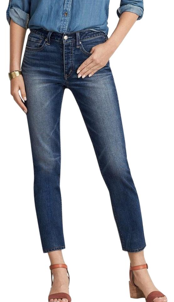 e9b130ad3cc7a American Eagle Outfitters Blue Vintage Hi-rise Skinny Jeans Size 23 ...
