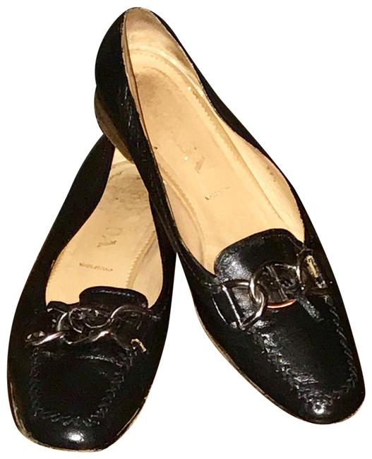 Item - Black Loafers Flats Size US 9.5 Regular (M, B)