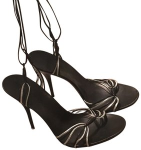 Casadei black and grey Sandals