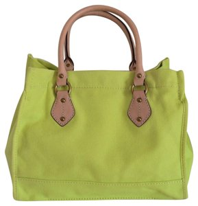 J.Crew Tote in lime green