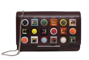 Fendi Palladium Cross Body Bag