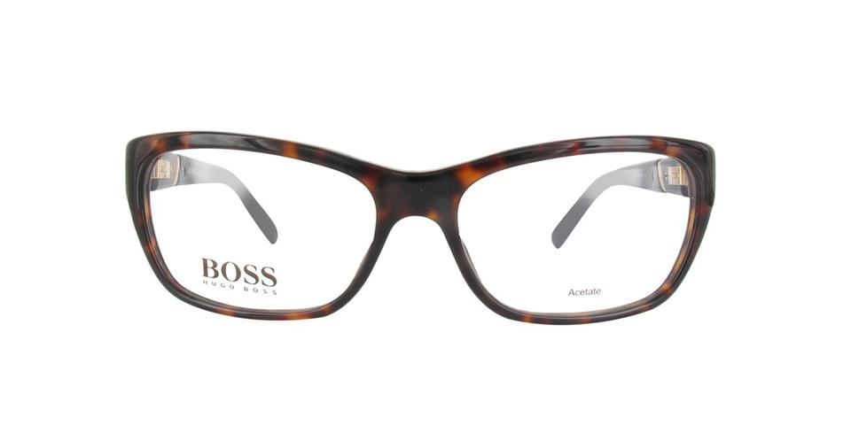 77aae3a725 Hugo Boss New Authentic Hugo Boss 0530 AGI Eyeglasses Havana Brown Frames  ...