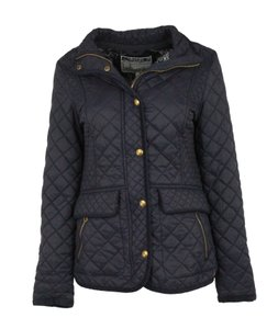 Joules Quilted Newdale Blue Jacket