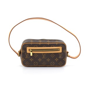 Louis Vuitton Monogram Canvas Hand Hobo Bag