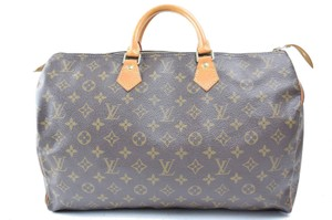 Louis Vuitton Keepall 40 Speedy 45 Damier Speedy Big Speedy Large Speedy Brown Travel Bag