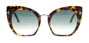 Tom Ford Tom Ford Brown Tortoise Acetate Samantha-02 Sunglasses