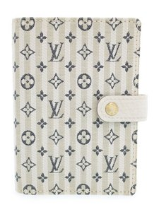 Louis Vuitton Monogram Canvas Blue Small agenda pm ring cover day planner