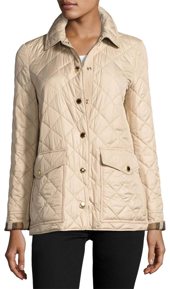 6b7bfb2aa8b1 Burberry Beige X-small (0-2) Westbridge Relaxed Quilted Jacket Size ...