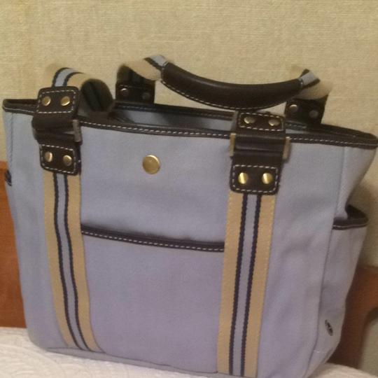 Rafe Canvas Tote in Blue
