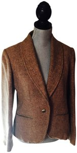 Oscar de la Renta light brown Blazer