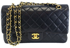 Chanel Caviar Coco Gold Flap Double Shoulder Bag