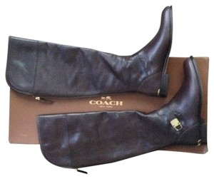 Coach Boot Riding Brown Chestnut Boots
