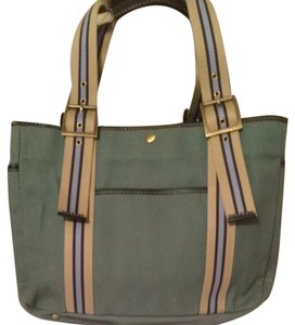 Rafe Canvas Tote in Green