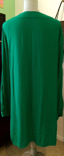 BCBGMAXAZRIA short dress Ultra Green on Tradesy