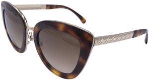 Chanel CAT EYE SPRING 2017 Sunglasses 5368 c.1295/S5 AUTHENTIC ITALY T91