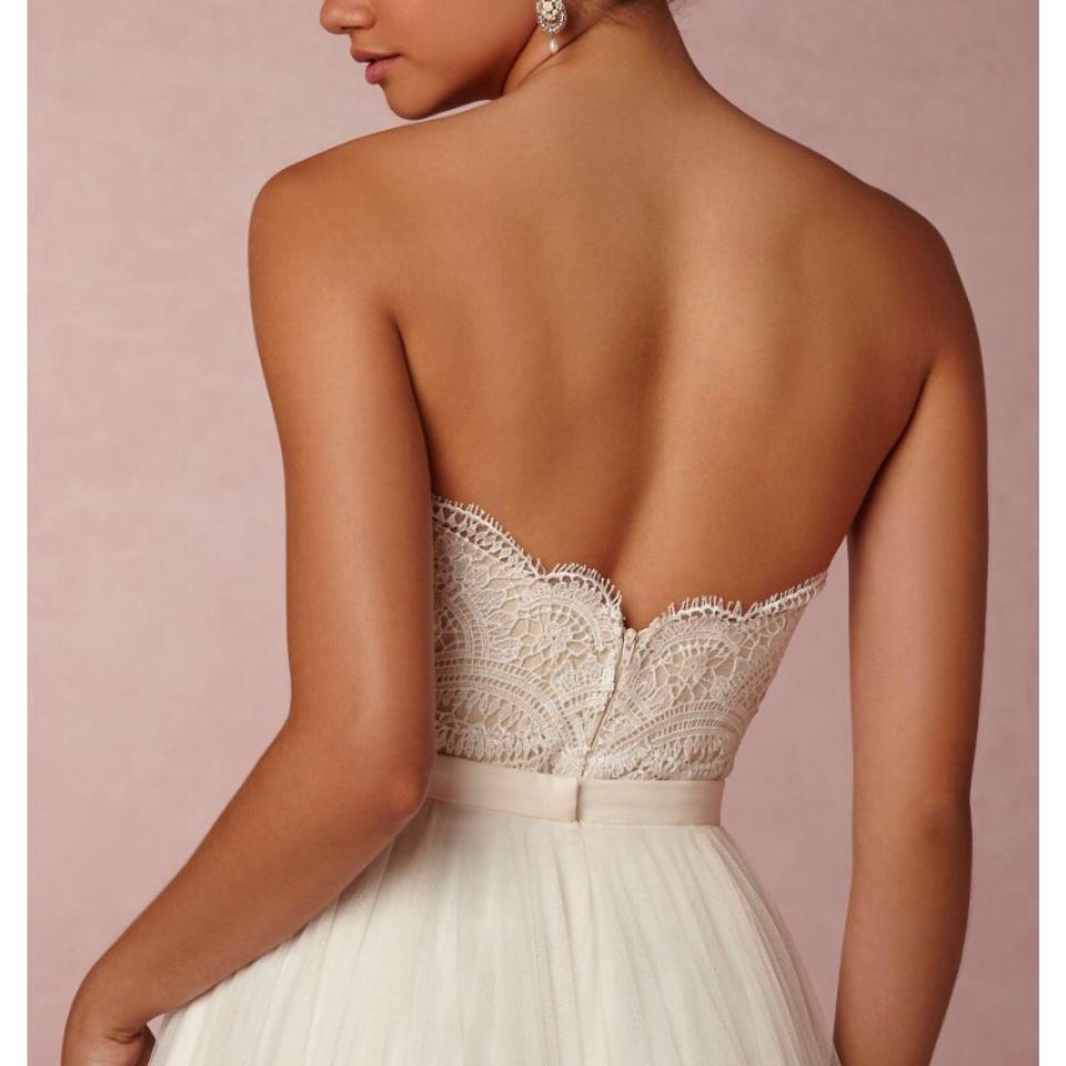 where to buy buying new check out Watters & Watters Bridal Ivory Cream Bhldn Kinsey Corset Top - - 00  Feminine Wedding Dress Size 0 (XS) 75% off retail