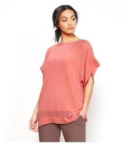 Eileen Fisher Top coral