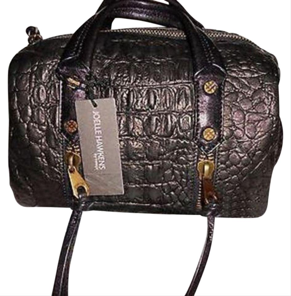 Joelle Hawkens by Treesje Distressed Style Small Bags Satchel in Black ... bed26eaf6f07a