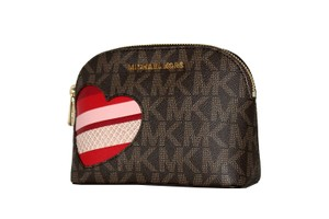 Michael Kors MICHAEL Michael Kors Women's CINDY HEARTS Travel Pouch Make up Case
