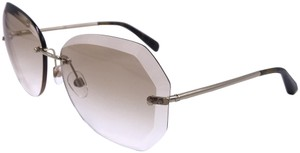 35ace224743b8 Chanel Chanel Round Spring Sunglasses 4220 c.395 3B GOLD frame Gradient T96
