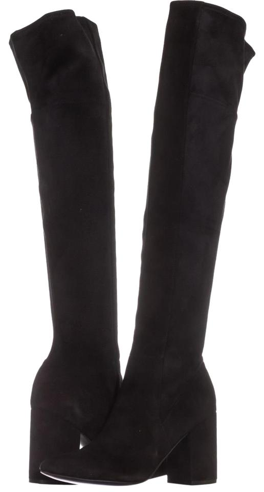 9e7141dfaaa Cole Haan Black Darla Over-the-knee 009 Suede Boots Booties Size US ...