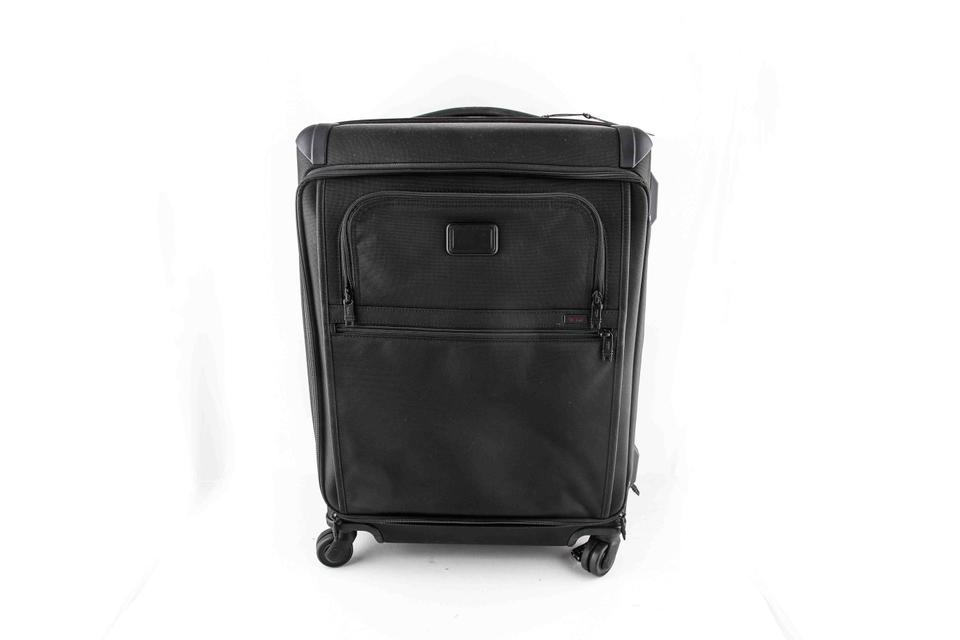 ab8944c03d Tumi Front Lid Short Packing Case Black Nylon Weekend Travel Bag ...