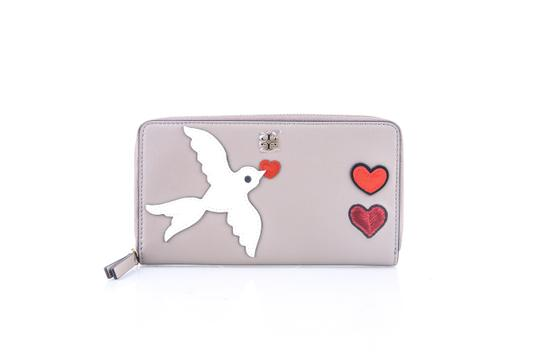Preload https://img-static.tradesy.com/item/22860241/tory-burch-french-grey-peace-embellished-zip-continental-wallet-0-0-540-540.jpg