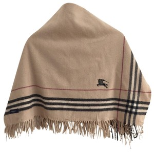 Burberry Vintage Burberrys Scarves Checkered Burberrys 100% Wool