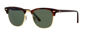 "Ray-Ban Tortoise Ray Ban CLUBMASTER - RB 3016 W0366 ""FREE 3 DAY SHIPPING"""
