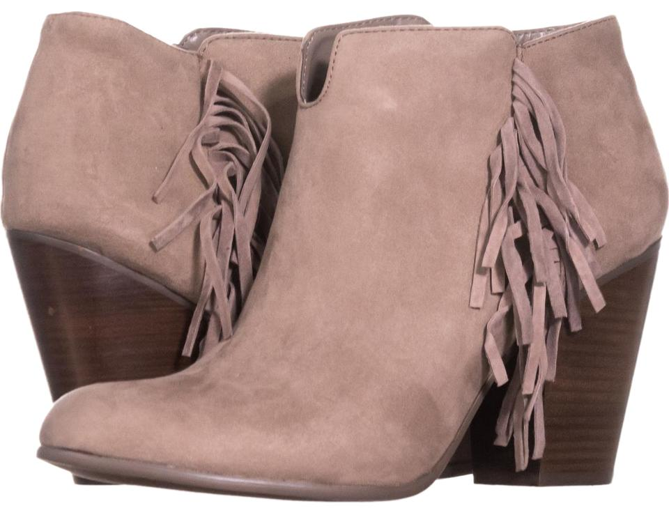 Carlos by Carlos Santana Brown Doe Tempe Fringe Block-heel 122 Doe Brown U Boots/Booties 7049f9
