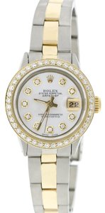Rolex Datejust Ladies 2-Tone 26MM Oyster w/White MOP Diamond Dial & Bezel