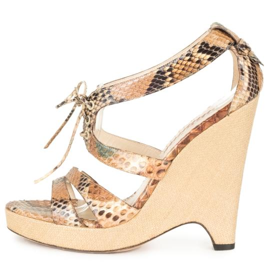 Preload https://img-static.tradesy.com/item/22861542/oscar-de-la-renta-python-tan-woven-wedges-sandals-size-eu-38-approx-us-8-regular-m-b-0-0-540-540.jpg