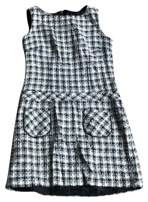 Preload https://img-static.tradesy.com/item/22861630/laundry-by-shelli-segal-black-and-white-tweed-short-workoffice-dress-size-2-xs-0-1-650-650.jpg