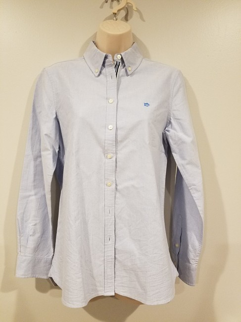 Southern Tide Button Down Shirt boat blue Image 1