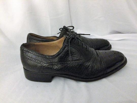 MORESCHI Loafers Italian Italy All Leather Black Formal Image 2