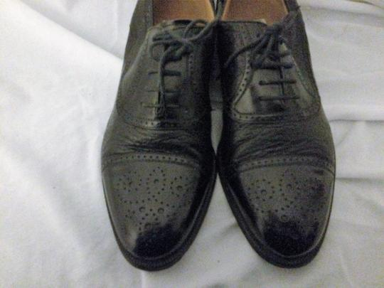 MORESCHI Loafers Italian Italy All Leather Black Formal Image 6