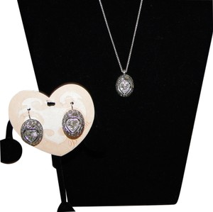 Brighton Brighton Ecstatic Heart Necklace & Earring Set