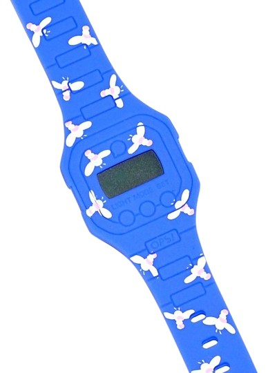 Preload https://img-static.tradesy.com/item/22862046/pixi-blue-ops-flat-bee-silicone-back-light-digital-womens-girls-kids-watch-0-1-540-540.jpg