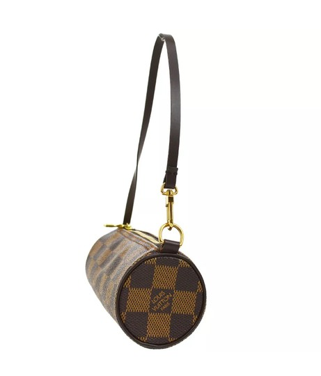 Louis Vuitton Wristlet in Damier Ebene Image 1