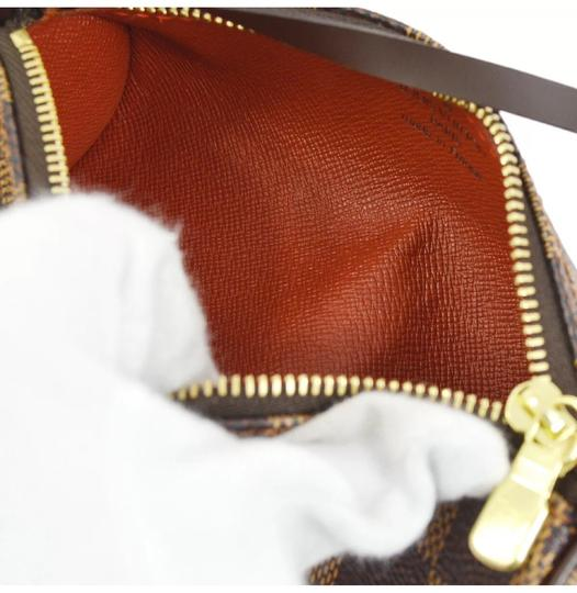 Louis Vuitton Wristlet in Damier Ebene Image 7